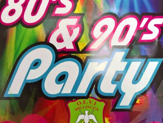Nel van de Natte over 80's & 90's party