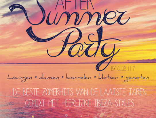 After Summer Party 2.0 in De Natte